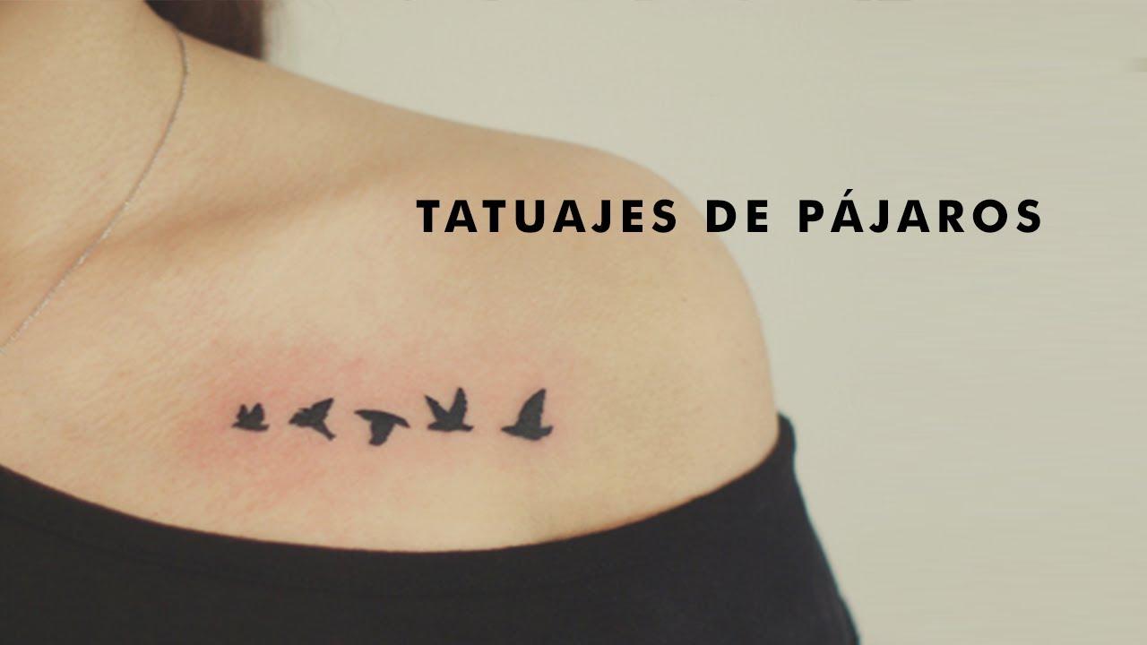21 Tatuajes De Pájaros Para Mujeres Youtube