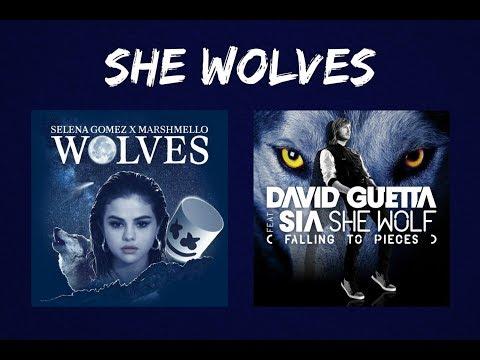 She Wolves - Selena Gomez, Marshmello ft. Sia, David Guetta