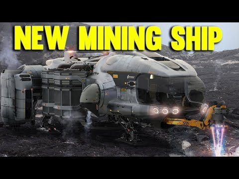 NEW STAR CITIZEN MINING SHIP | MISC PROSPECTOR