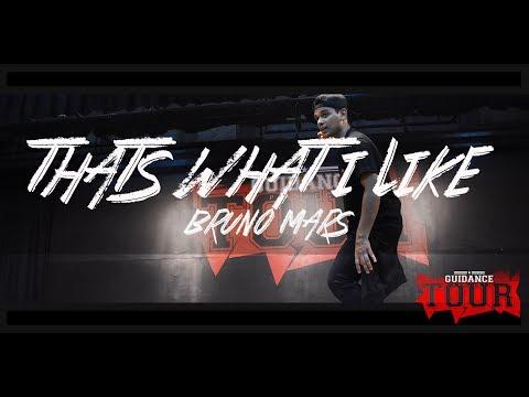 'THATS WHAT I LIKE' - Bruno Mars   Vinay Khandelwal Choreography   GUIDANCE Tour 'Mumbai'