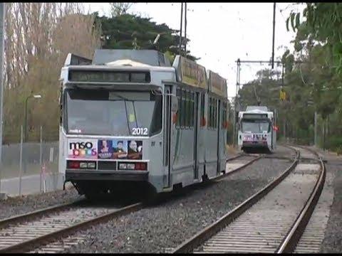 Melbourne Grand Prix Tram Operations 2009 Yarra Trams D2 Trams Route 112 7 86