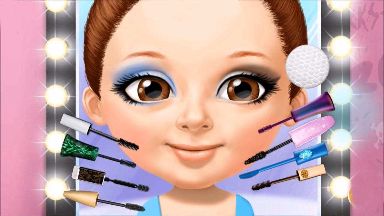 Sevimli Kızlar Güzellik Salonu #Çizgifilm Tadında Oyun