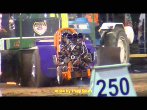 Tractor Pulling action from Ft. Recovery Ohio 7/25/14