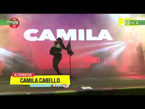 Camila Cabello - In the dark (@ Lollapalooza Argentina 2018)