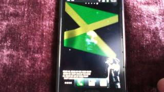 Bob Marley Jamaica live wallpaper for android phone