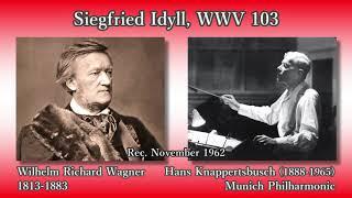 Wagner: Siegfried Idyll, Knappertsbusch & MPhil (1962) ワーグナー ジークフリート牧歌 クナッパーツブッシュ thumbnail