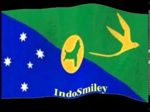 australia Christmas Island Flag Animation Best Free Android Live Wall Paper IndoSmiley - YouTube