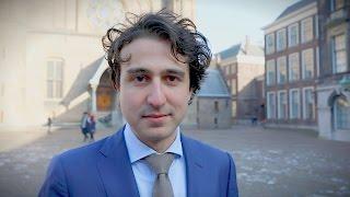 GroenLinks-lijsttrekker Jesse Klaver stelt zich voor
