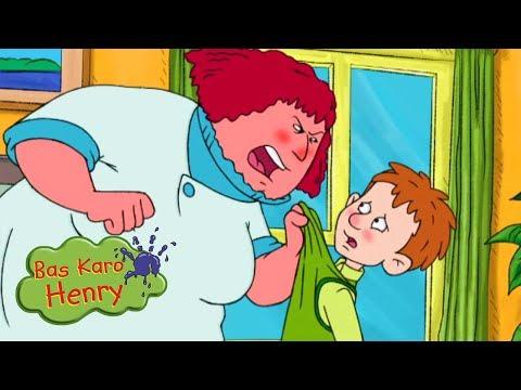 राक्षस रात्रि भोजन - Bas Karo Henry | बच्चों के लिए कार्टून | Hindi Cartoons
