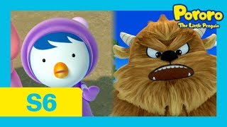 Pororo Season 6 | #18 Petty, the Great Storyteller | Oh no!! It's the snow monster!!!