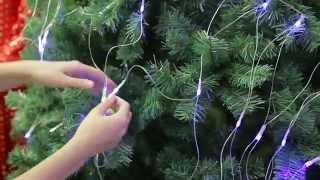 видео Светодиодные деревья для создания атмосферы праздника