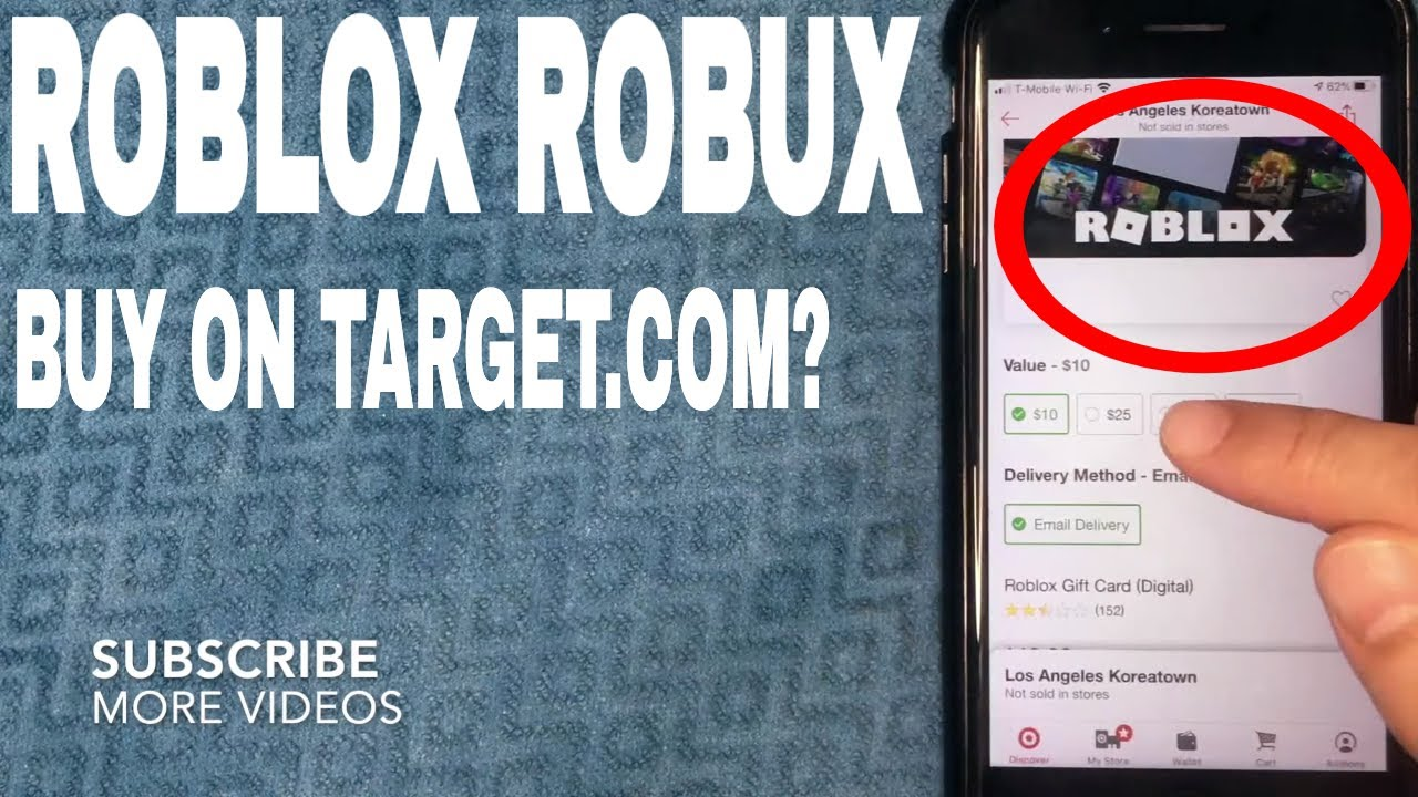 ✓ How To Buy A Roblox Robux Gift Card On Target 🔴 YouTube