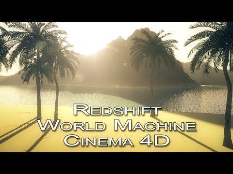 World Machine / Redshift / Marcos / C4D / Part 2