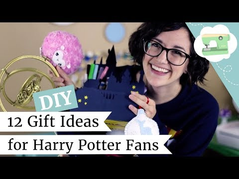 How to Make 12 DIY Holiday Gifts for Harry Potter Fans! | @l