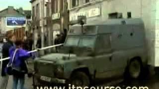 An off-duty RUC officer in Belfast kills three people in a Sinn Féin office