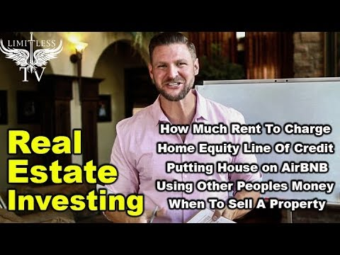Real Estate Investing – Home Equity Line Of Credit – Q&A #11