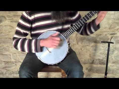 Sam Hutchings Maple and Grenadillo banjo