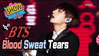 [HOT] BTS - Blood Sweat & Tears, 방탄소년단 - 피 땀 눈물 Show Music core 20161224