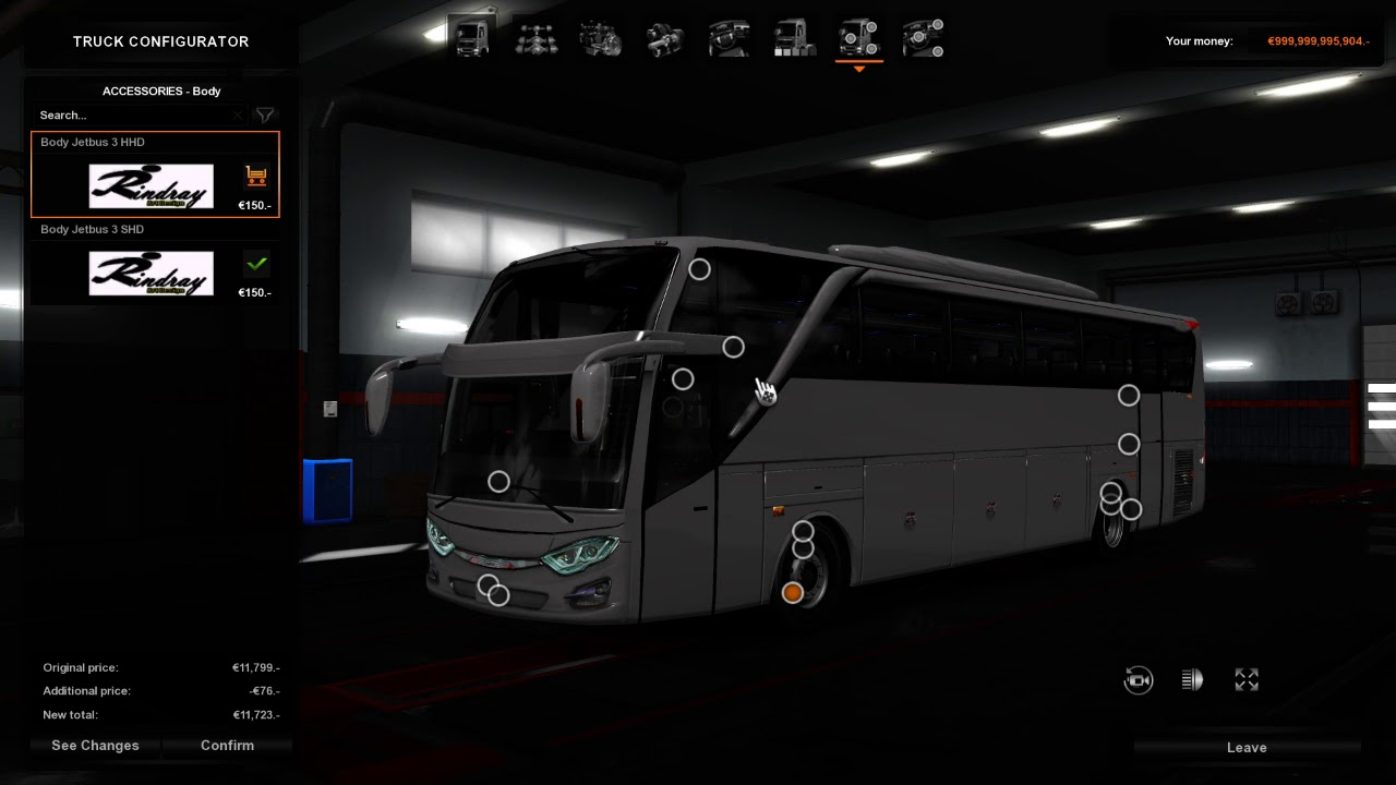 Jetbus 3 Shd And Hdd 1 31 1 32 Ets2 Mods Euro Truck