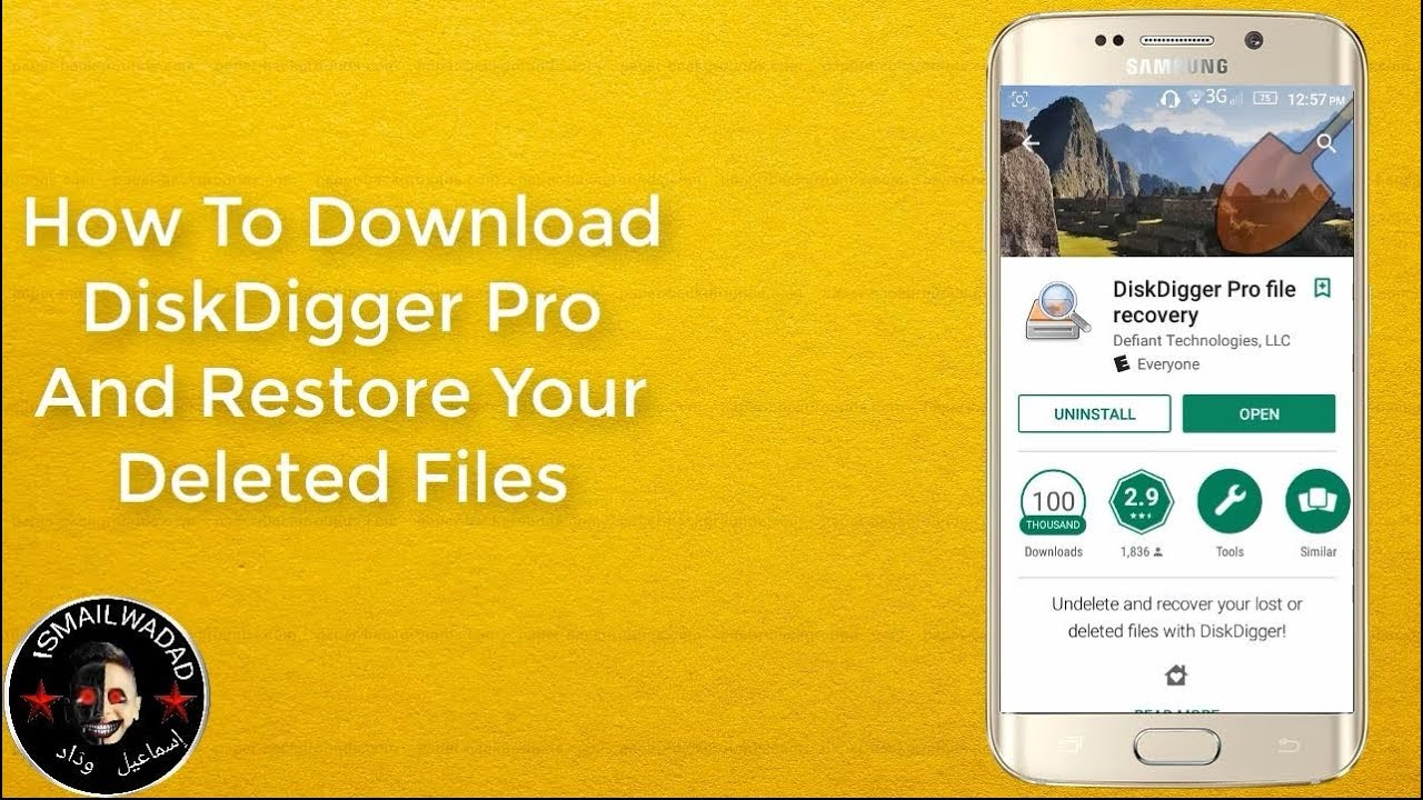 How To Download DiskDigger Pro And Restore Your Deleted Files
