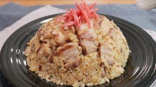 旨味たっぷり豚バラチャーハン Pork belly fried rice kurashiru [クラシル] thumbnail