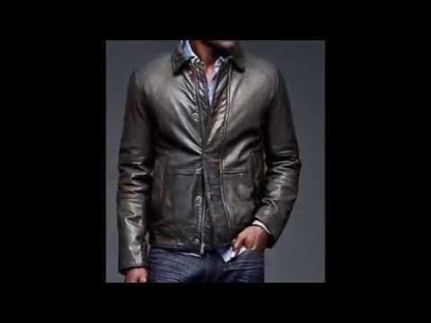 des veste en cuire pour homme de qualité supérieure