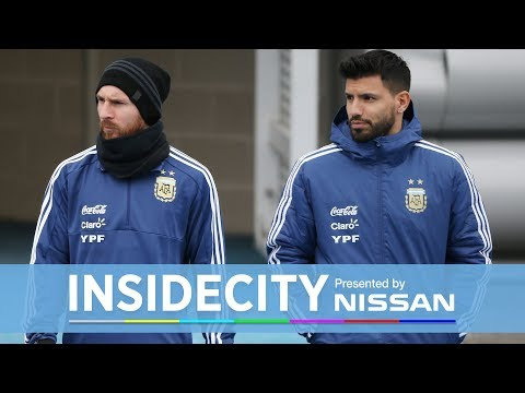 MESSI TRAINS AT CITY WITH AGUERO! | INSIDE CITY 289