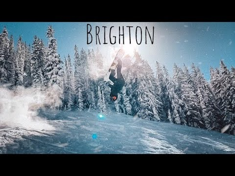 PERFECT POW DAY At BRIGHTON 2019 SNOWBOARDING
