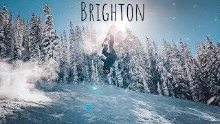 PERFECT POW DAY at BRIGHTON 2019 SNOWBOARDING
