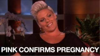 Pink Opens Up About Pregnancy & Miscarriage with Ellen DeGeneres