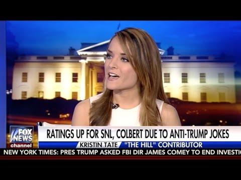 Kristin Tate Calls Out Stephen Colbert on Tucker Carlson Tonight, Fox