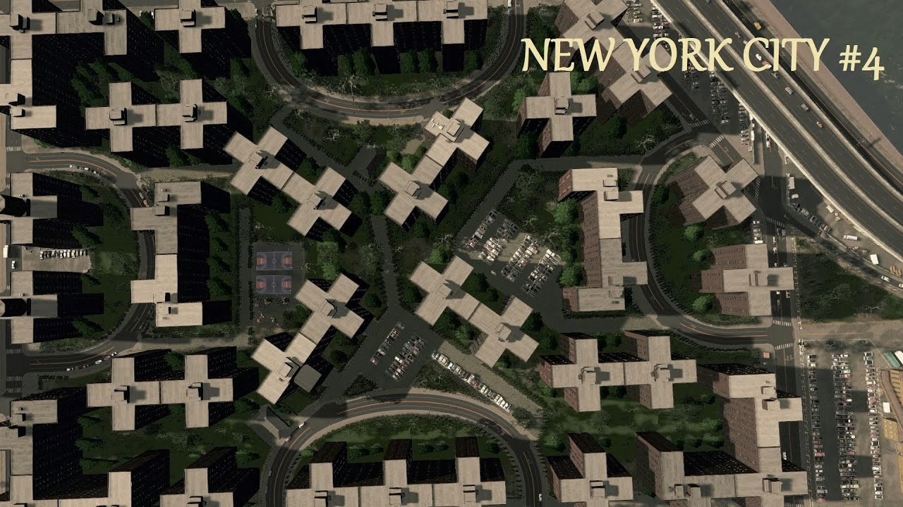Cities skylines new york city stuyvesant town ep 4 for Stuyvesant town nyc