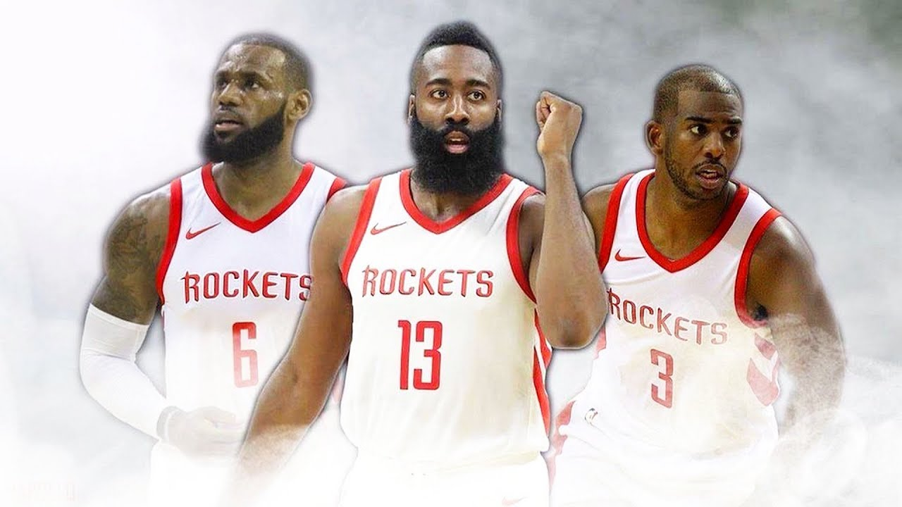 c9feee618171 LeBron James Joins Rockets After Cavaliers Trade Entire Team (Parody ...