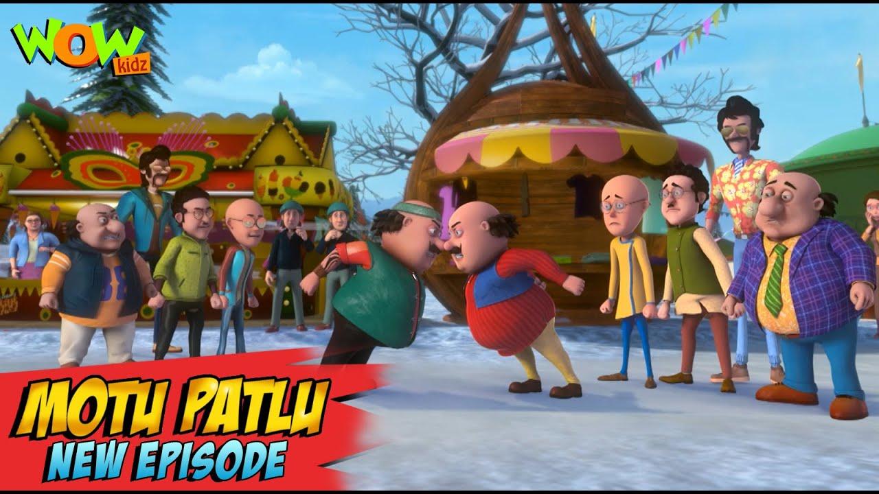 Download Motu Patlu New Episodes 2021 | Twins Carnival In Jungfraujoch | Funny Stories | Wow Kidz