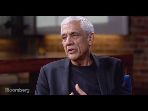 Vinod Khosla Talks Robots, Clean Tech Investing & More on Studio 1.0