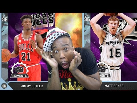 NEW DIAMOND JIMMY BUTLER VS DIAMOND MATT BONNER!? WTF! HOW! NBA 2k16 MyTeam Gameplay