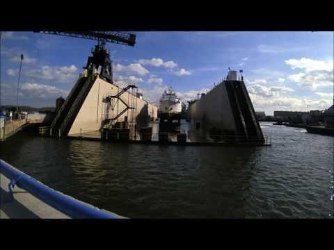 BIOS Atlantic Explorer at Detyens Shipyards 1/2017