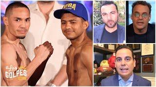 GALLO ESTRADA VS CHOCOLATITO GONZÁLEZ: La pelea más pareja que verás en mucho tiempo | A Los Golpes