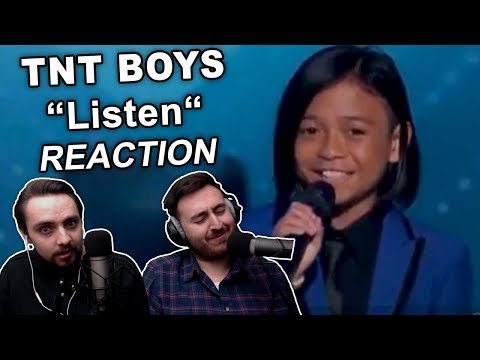 """TNT Boys - Listen (The World's Best)"" Singers REACTION"