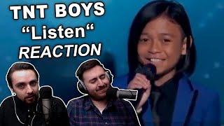 """TNT Boys - Listen (The World's Best)"" Singers REACTION"