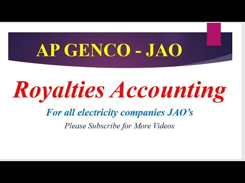JAO - ROYALTIES ACCOUNTING CLASS