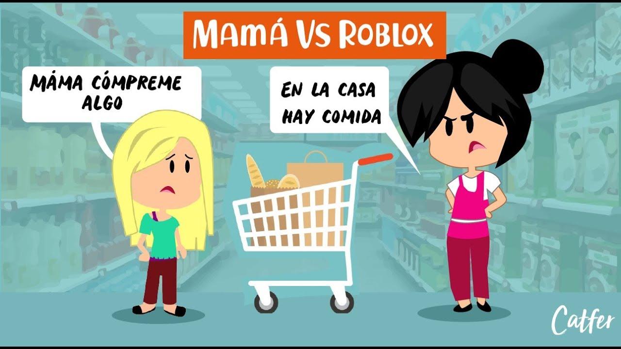 Mamá Vs Roblox De Compras Con Mamá Mamá Cómpreme Algo - mama morph roblox