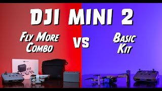 DJI Mini 2 Fly More Combo vs Basic Kit - Which one should YOU buy?