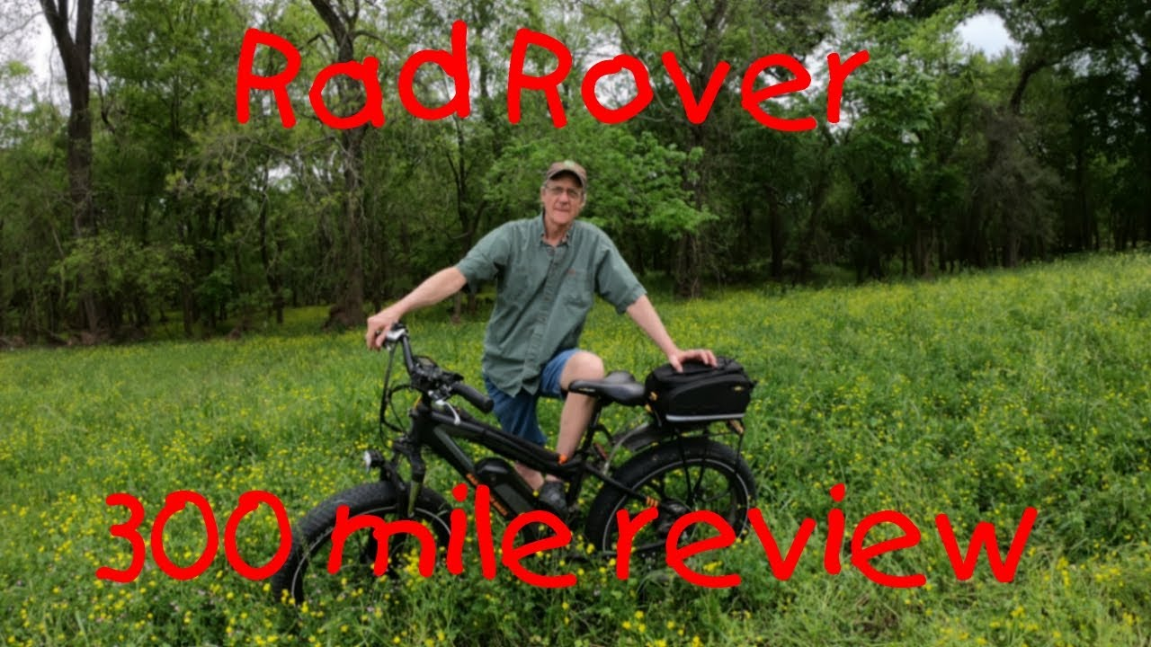 Rad Rover Electric Bike 300 Mile Review Youtube