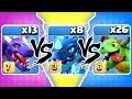 ELECTRO vs BABY vs DRAGON! 🔥 TRIPLE THREAT SHOWDOWN! - Clash Of Clans