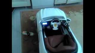 видео Детский электромобиль с резиновыми колесами HENES PHANTOM Premium