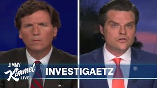 Rep Matt Gaetz's Sex Trafficking Investigation & Uncomfortable Tucker Carlson Interview