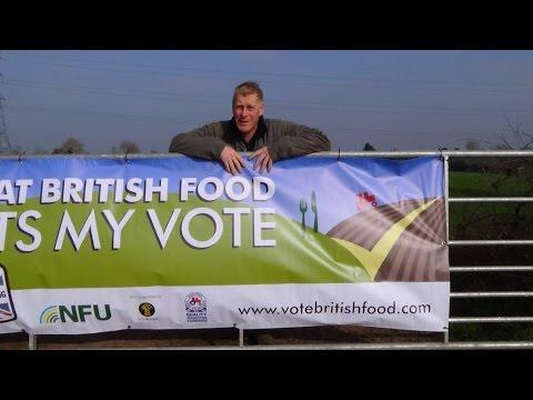 NFU Great British Food banner
