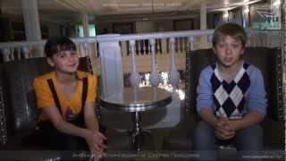 Актёры: Анфиса Вистингаузен и Сергей Походаев.
