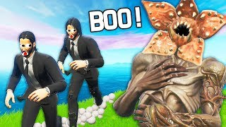 I EFFRAIE ALL WORLD WITH THE NEW SKIN ''DEMOGORGON'' - FORTNITE X STRANGER THINGS